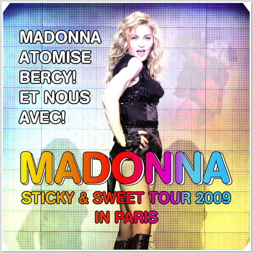 madonna sticky and sweet tour 2009 paris bercy popb xtatic madonna sticky & sweet