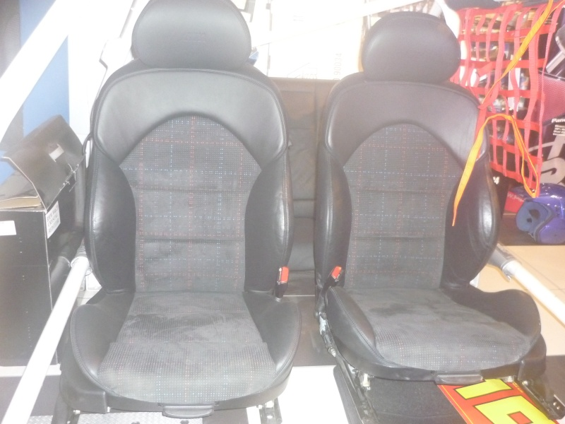 Vds interieur semi cuir bmw m3 e46 700 for Bmw e46 interieur