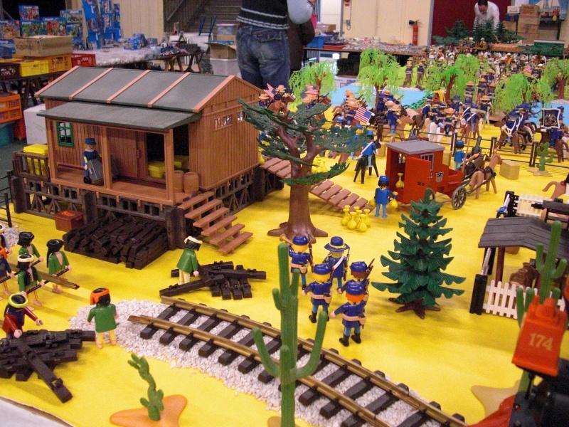 Salons du playmobil we du 10 et 11 octobre photos wattrelos for Salon du playmobile le mans