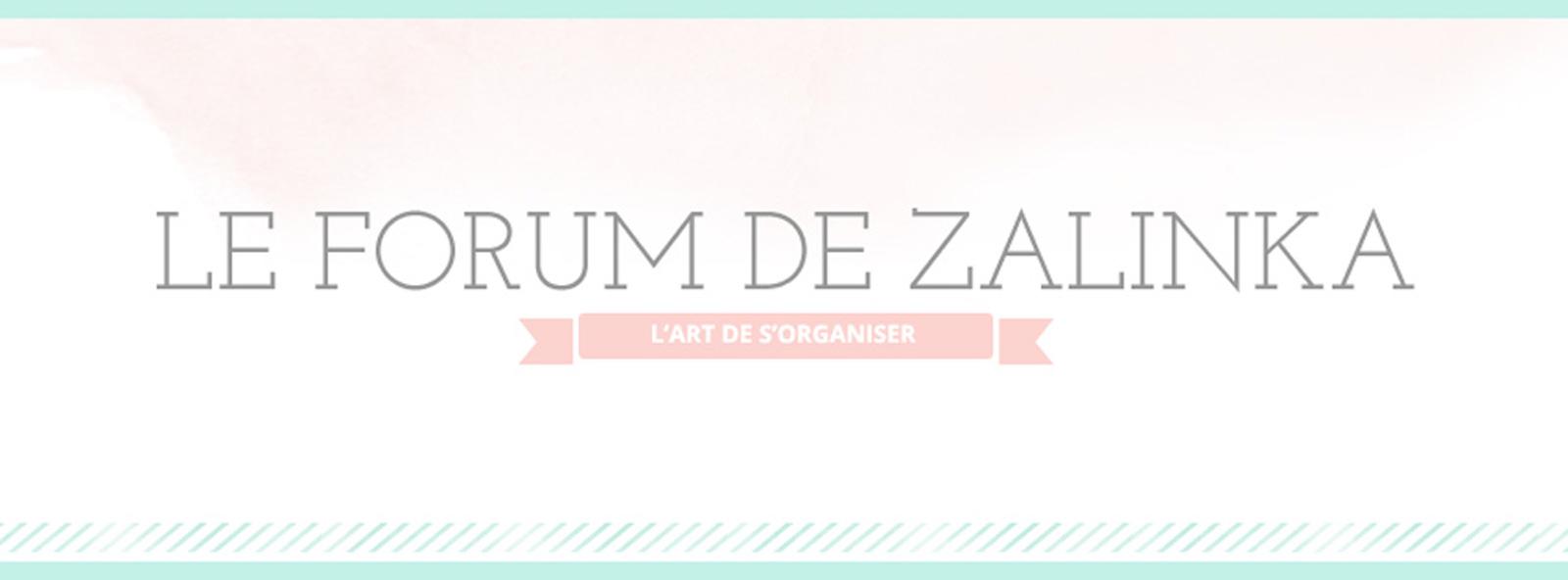 Le Forum de Zalinka pour s'organiser et gagner du temps