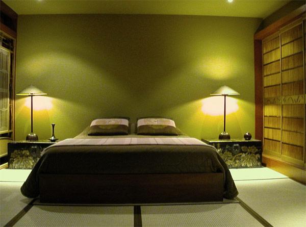 Awesome Chambre Marron Et Vert Anis Images - Matkin.info - matkin.info