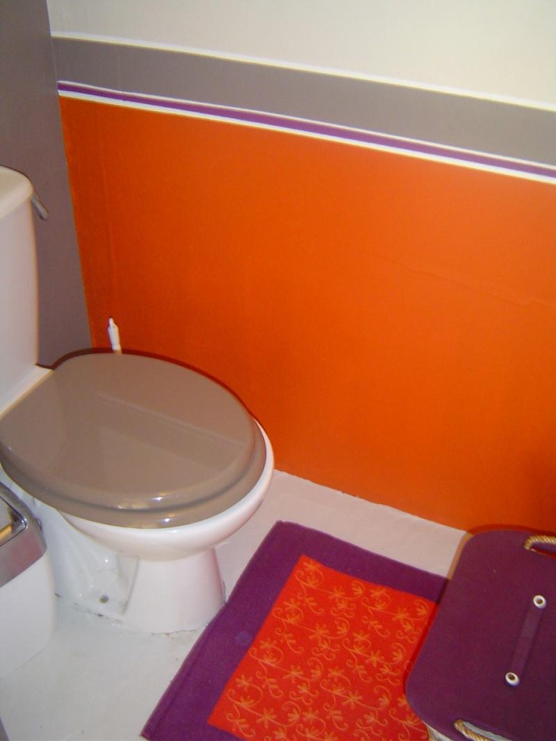 D co wc orange for Carrelage orange