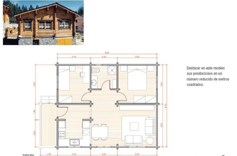 planos en pdf planta casas de madera