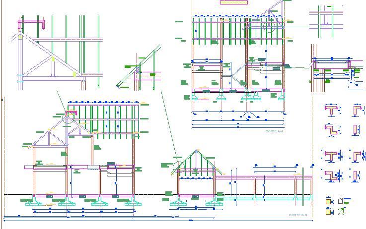 Planos planta estructura casa r for Planos de estructuras