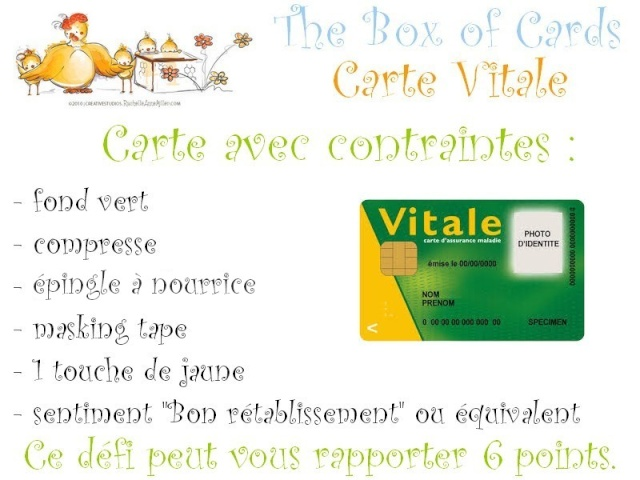 Carte vitale {shabby}