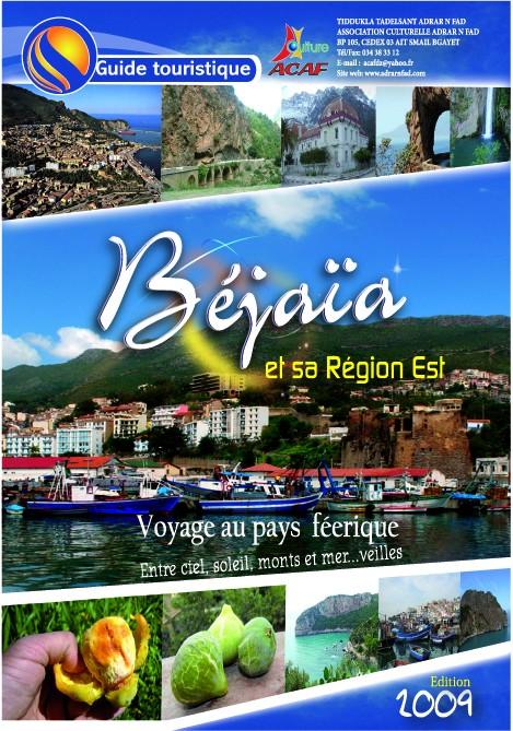 Carte touristique bejaia