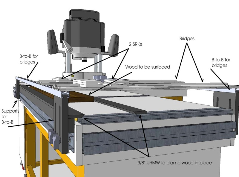 how to use a surface planer