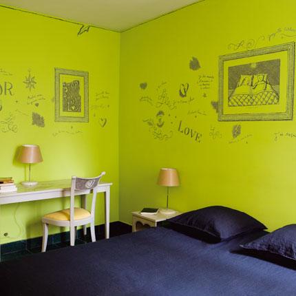photos ambiance vert taupe gris lin ou. Black Bedroom Furniture Sets. Home Design Ideas