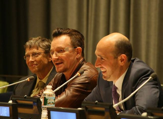 Bono au sommet sur la philanthopie Forbes 400