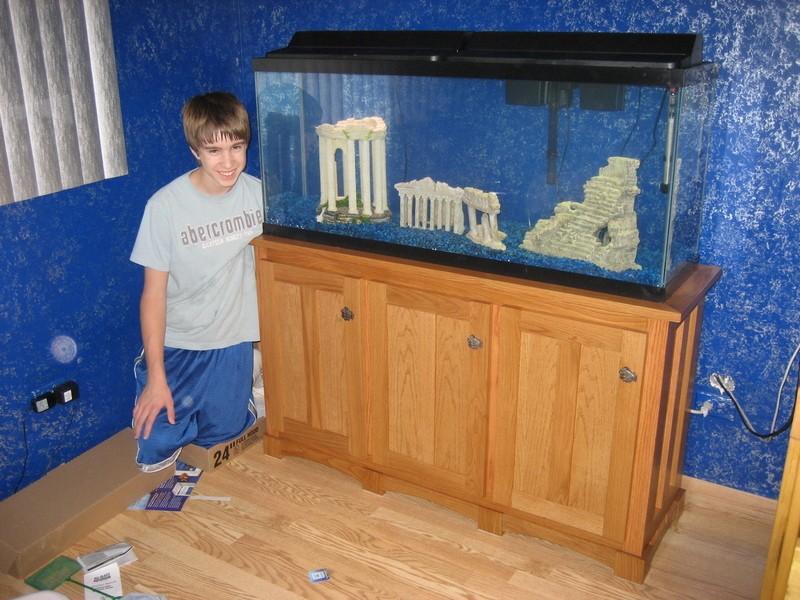 Mike goetzke aquarium hood for Fish tank hood
