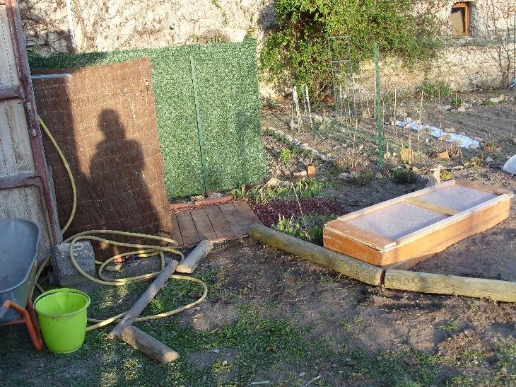 Mon jardin 2009 avec photos - Terrasse surplombant mon jardin metz ...