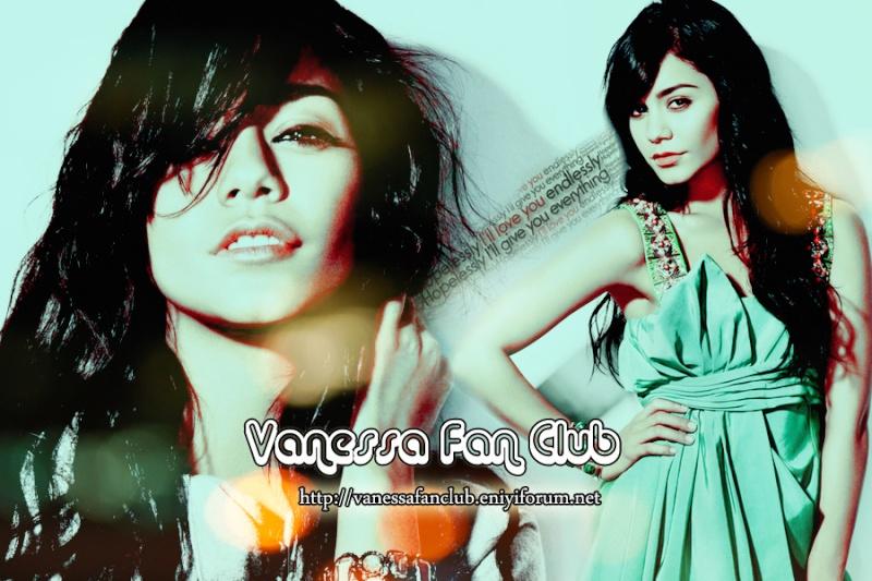 Vanessa Hudgens  Fan Club e Hoşgeldiniz