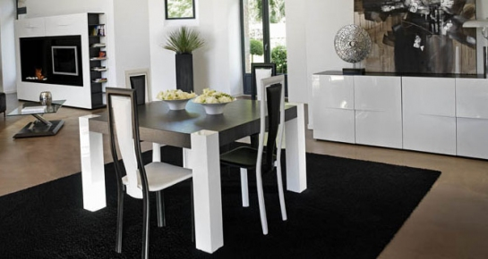 Help Table De S Jour Laqu E Blanc Ou Stratifi E Blanc