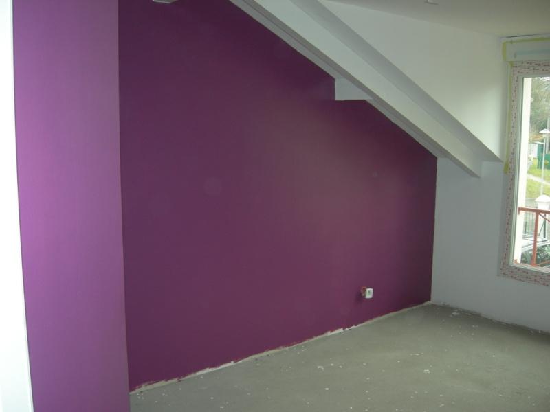 Aide pour la chambre de mes enfants page 2 for Chambre couleur prune et gris