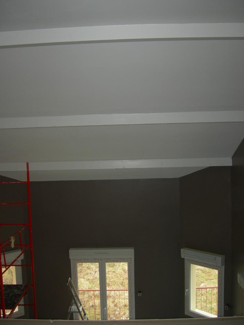 Poutres vernies ou peintes en blanc et maintenant mes rideaux svp page 2 - Poutres peintes en blanc ...