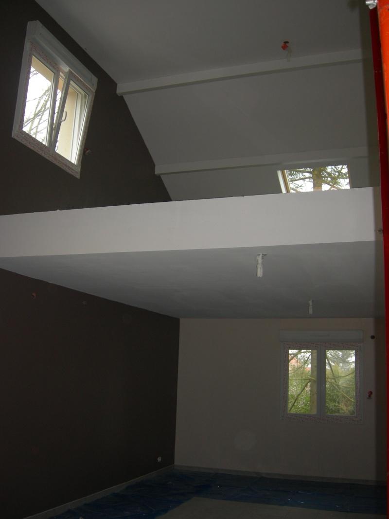 Poutres vernies ou peintes en blanc ?( et maintenant mes rideaux ...