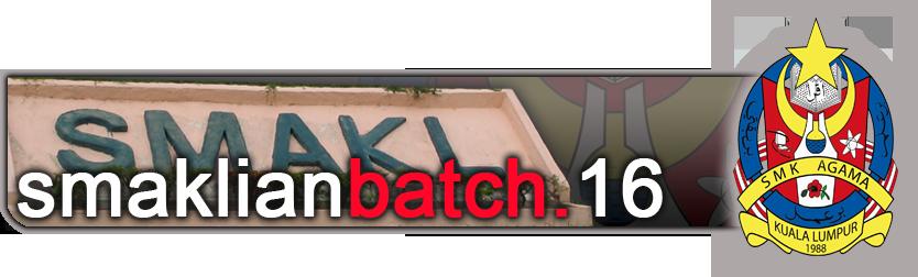 batch16 smakl