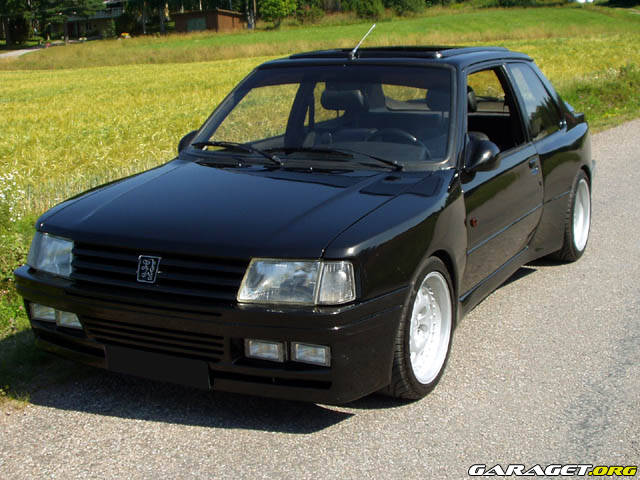 re spotted peugeot 309 gti page 1 general gassing. Black Bedroom Furniture Sets. Home Design Ideas