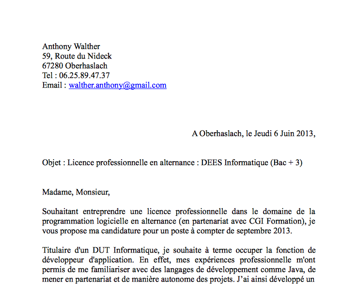 cv    lettre motivation   mirodin