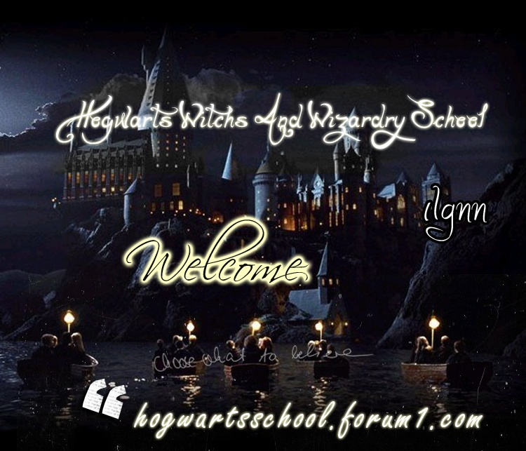 HogwaRts Witch's and WizaRdry SchooL*