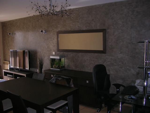 Besoin id e pour couleur murs dans chambre avec mobiliers - Mur beton cire salon ...