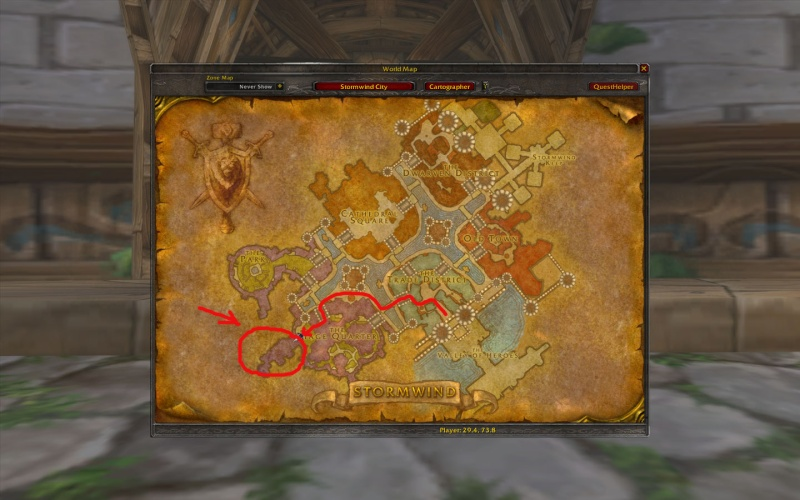 how to go to kalimdor from stormwind
