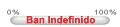 0% Ban Indefinido