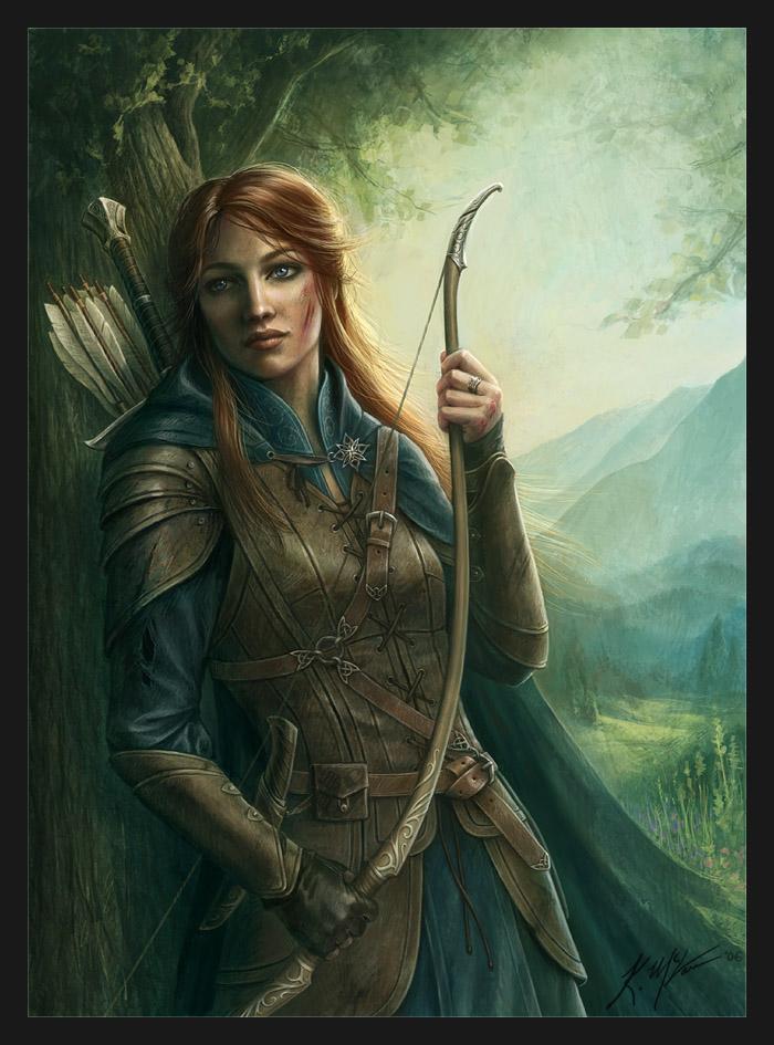 Servant ArcherElven Ranger Portrait