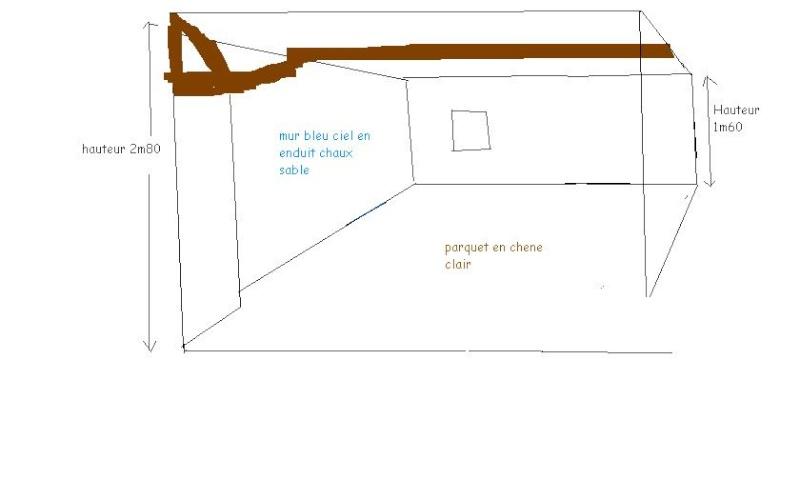 besoin d 39 aide pour peinture d 39 une chambre mansard e bouniette. Black Bedroom Furniture Sets. Home Design Ideas