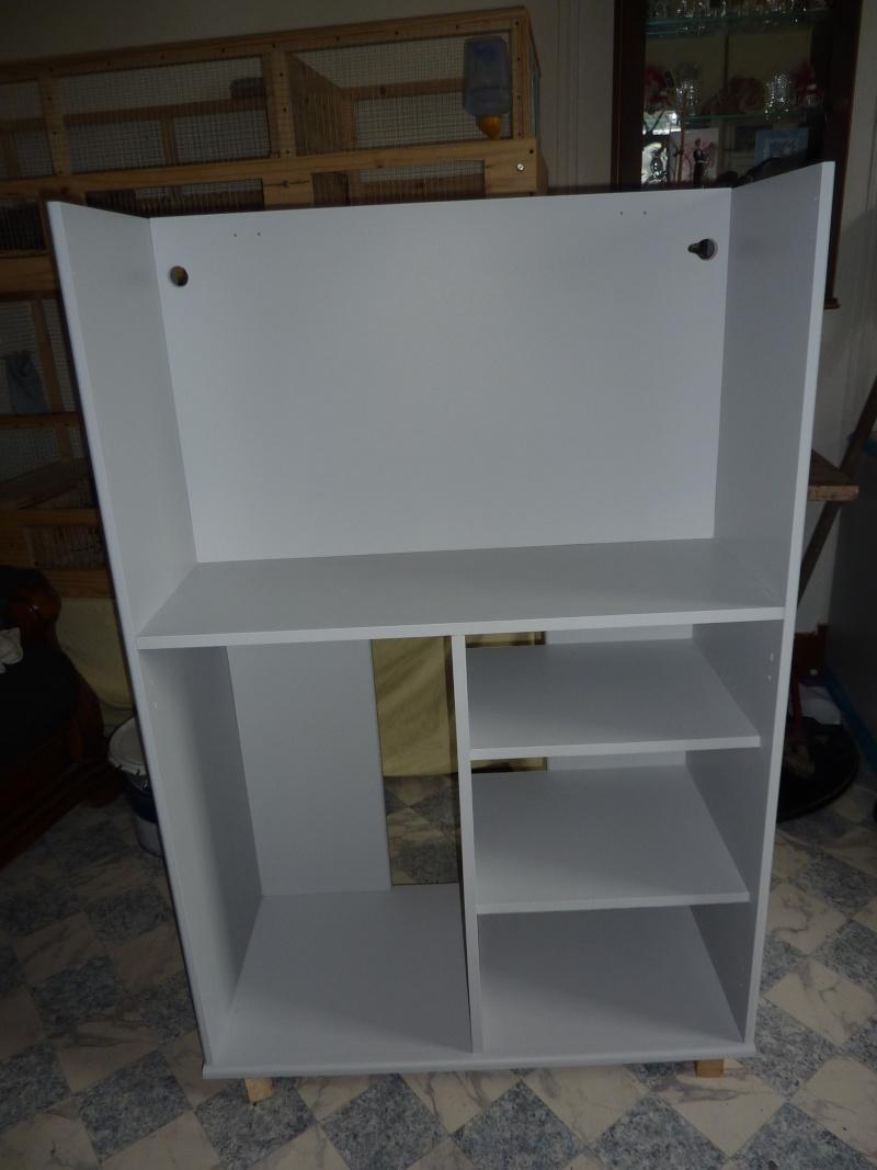 [fabrication] meuble pour bac de 100litres -> Fabrication Meuble