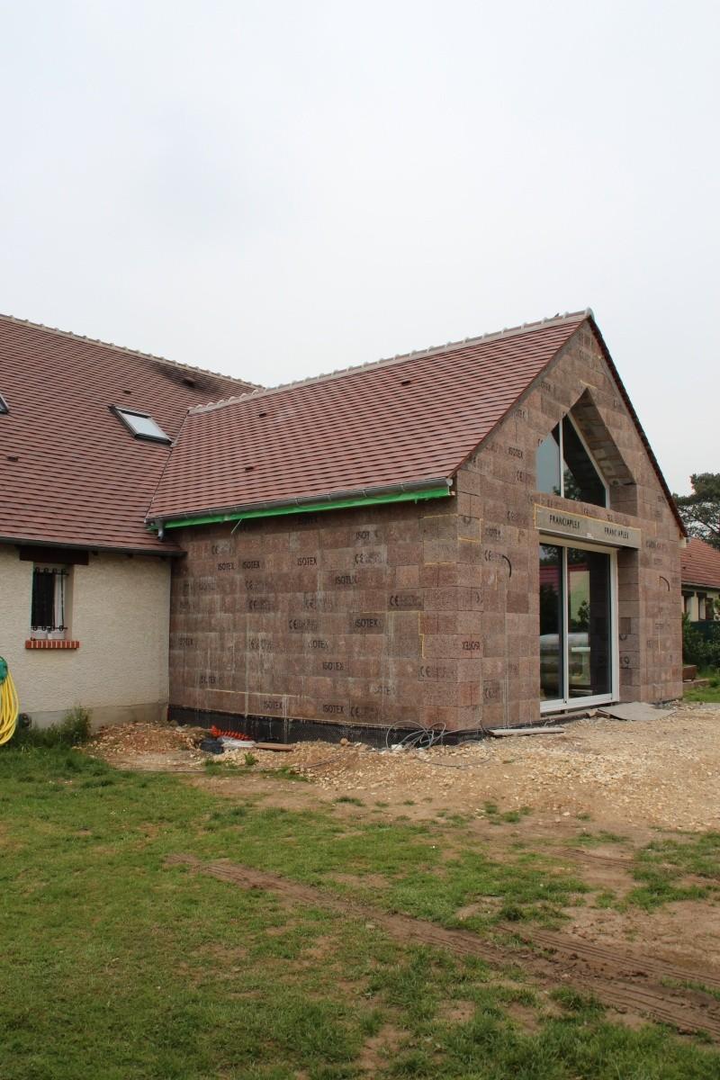 Nath47 agrandissement de ma maison pour un salon page 18 for Agrandissement maison loiret