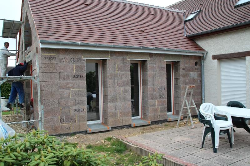 Nath47 agrandissement de ma maison pour un salon page 21 for Agrandissement maison loiret