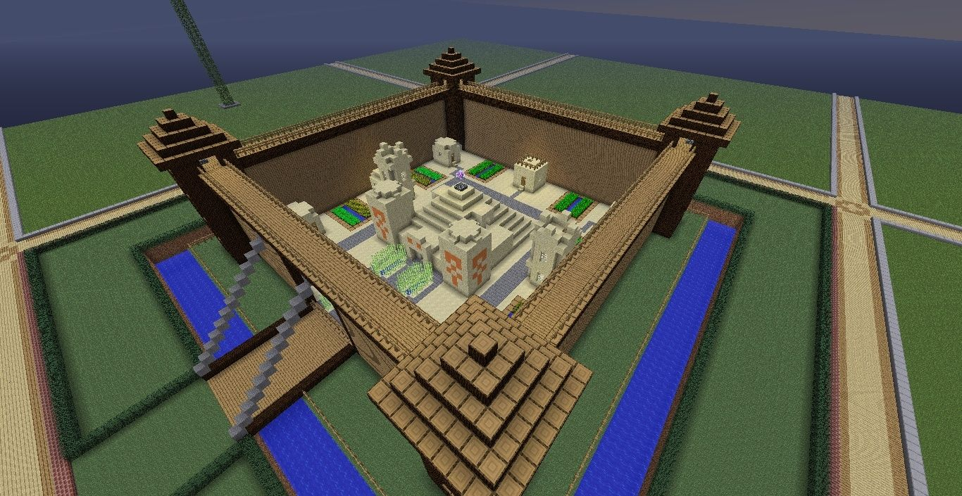 Castle de 39 villa screenshots show your creation - Minecraft villa ...