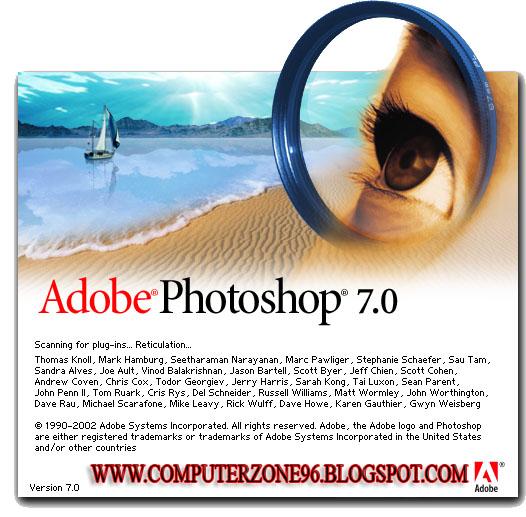������ : Adobe Photoshop 7.0 ���� �����  ����� ������100%