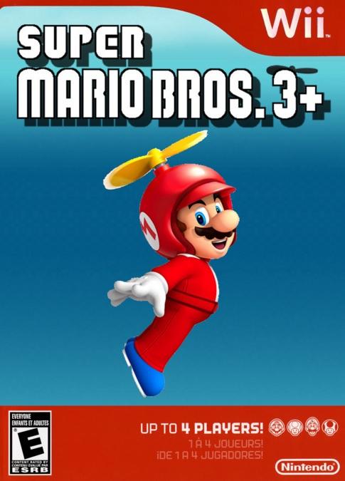Super Mario Bros. 3+ Wii Español