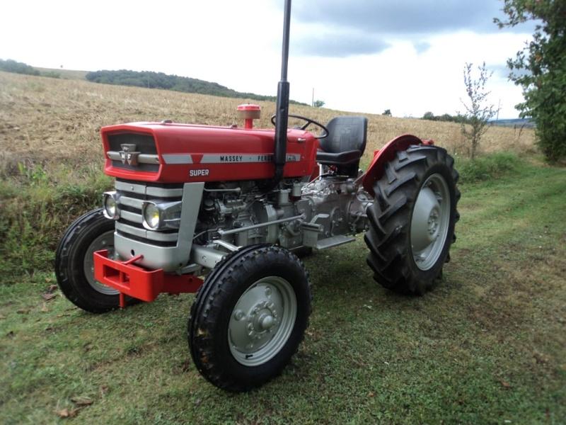 Tracteur massey ferguson 140