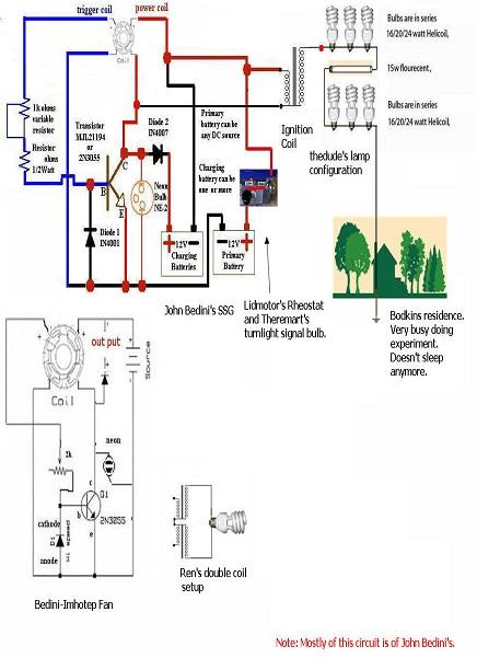 Circuito Motor Bedini : Tutorial bedini con ventilador de pc paso a