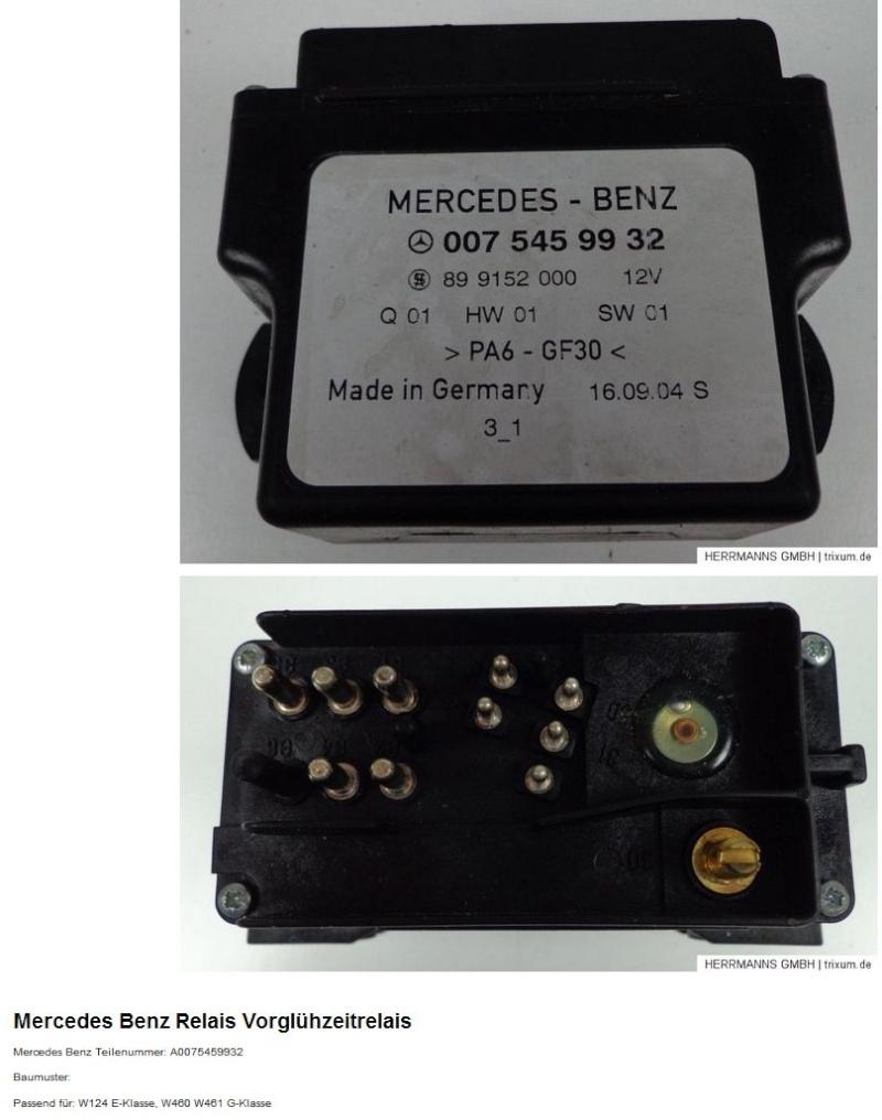 Mercedes benz anciennes w124 250d temps de pr chauffage long
