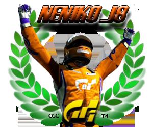 Neniko_18, campeón de GT1 de la Temporada 4 de Gran Turismo en CGC