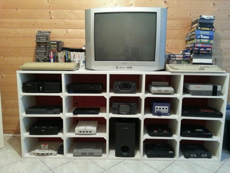 galerie pas une borne mais un meuble retro gaming