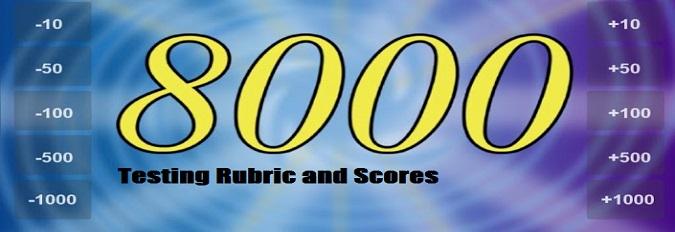 Testing Rubric and Scoring
