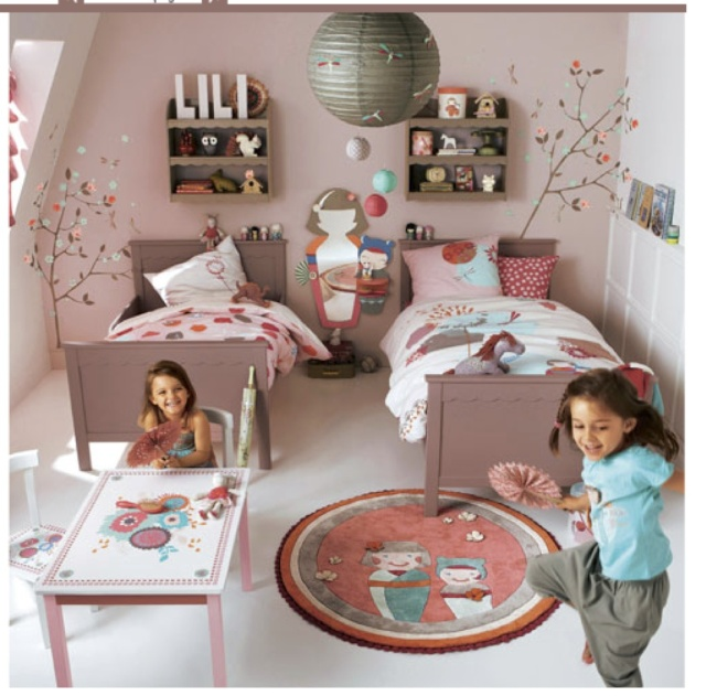Deco chambre fille vertbaudet for Exemple chambre ado fille