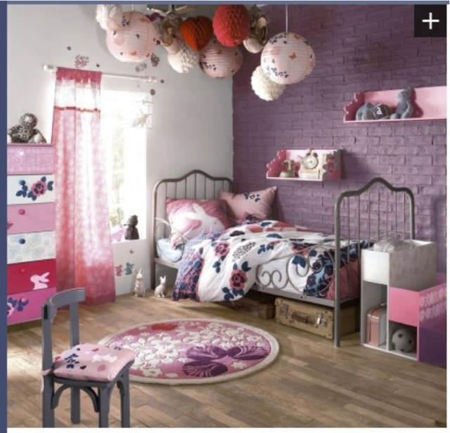 2 chambres rooooooses pour 4 princesses - Babyphone pour 2 chambres ...