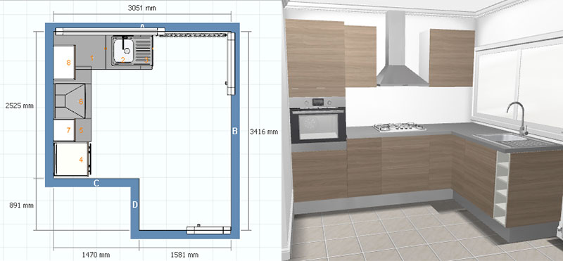 Armoires de cuisine armoire de cuisine quincaillerie and - Amenagement cuisine pas cher ...